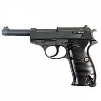 Пистолет walter p.38 , Люгера, Парабеллум , Вальтер P38, металлический на пульках., фото 1