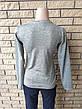 Кофта, футболка с длинным рукавом женская трикотажная высокого качества брендовая ENVYME, Украина(ARBER), фото 5