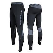 Женские спортивные термолосины для спорта Rough Radical Thunder, черные с серым