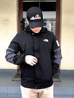 Вітровка The North Face black L. TNF тнф. Куртка The North Face.