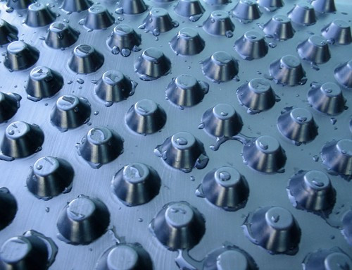 Дренажная геомембрана для гидроизоляции Изолит