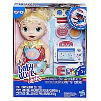 Кукла Hasbro Baby Alive Малышка и еда / Baby Alive Snackin' Treats Baby, фото 1