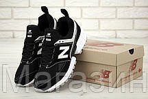 Мужские кроссовки New Balance 574 Sport V2 Black/White (Нью Баланс 574 Спорт) черные, фото 3