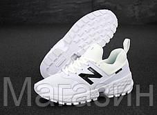 Мужские кроссовки New Balance 574 Sport V2 White (Нью Баланс 574 Спорт) белые, фото 2