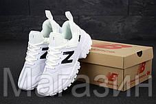 Мужские кроссовки New Balance 574 Sport V2 White (Нью Баланс 574 Спорт) белые, фото 3
