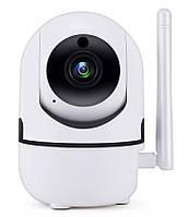 Беспроводная поворотная IP камера WiFi microSD UKC Y13G 1mp с распознаванием лиц (4948)