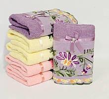 Кухонные полотенца с кружевом