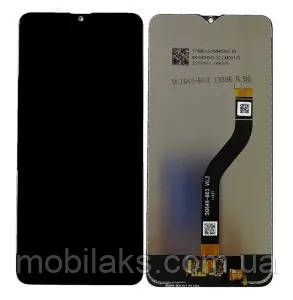 Дисплей з сенсором Samsung A207 Galaxy A20s Black, GH81-17774A, оригінал