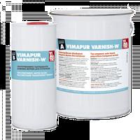 VIMAPUR VARNISH-W - полиуретановый лак на водной основе, 10 кг
