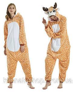 Кигуруми пижама Олень Олененок размер S, M, L, XL