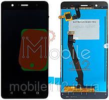 Экран (дисплей) Lenovo K8 Plus + тачскрин черный