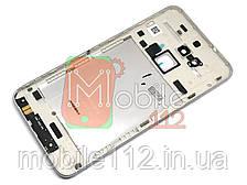 Задняя крышка Asus Zenfone 3 Max (ZC520TL) серебристая оригинал Китай