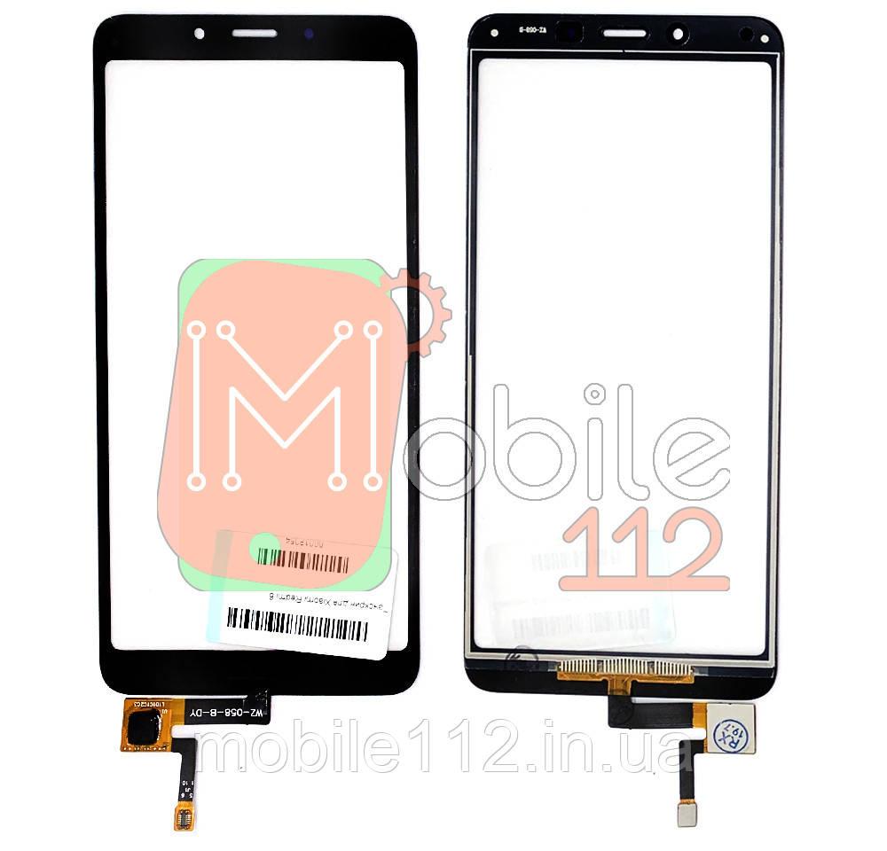 Сенсор (тачскрин) Xiaomi Redmi 6 6A черный