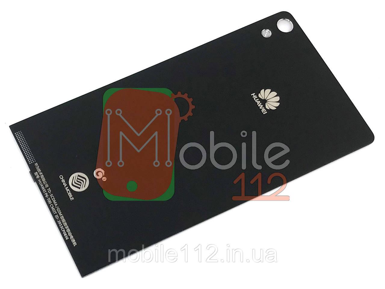 Задняя крышка Huawei P6-U06 Ascend черная