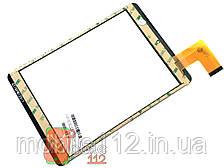 Сенсор (тачскрин)  планшета P/N: GT78PW125 7,85 дюймов, 137 х 197 мм, 40 pin черный