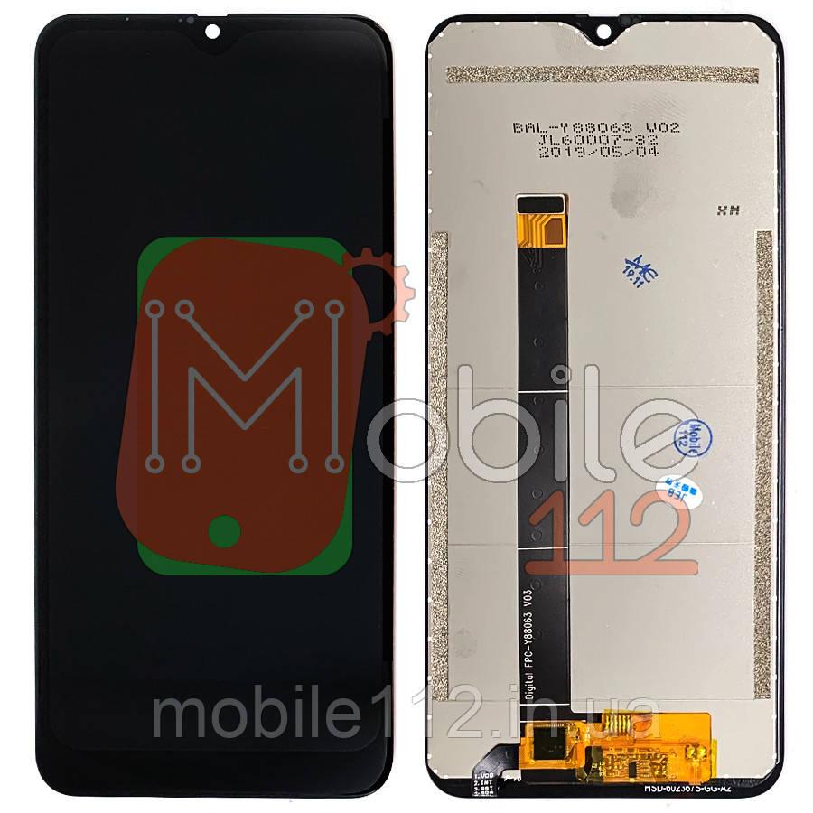Экран (дисплей) Blackview A60 + тачскрин черный оригинал Китай