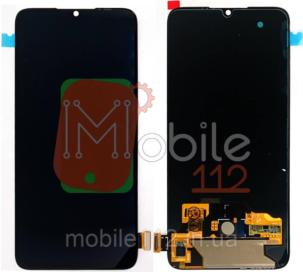 Экран (дисплей) Xiaomi Mi9 Lite Mi 9 Lite Mi CC9 + тачскрин черный оригинал Китай AMOLED