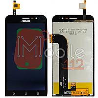 Экран (дисплей) Asus ZenFone Go (ZB500KL X00AD) + тачскрин черный оригинал Китай