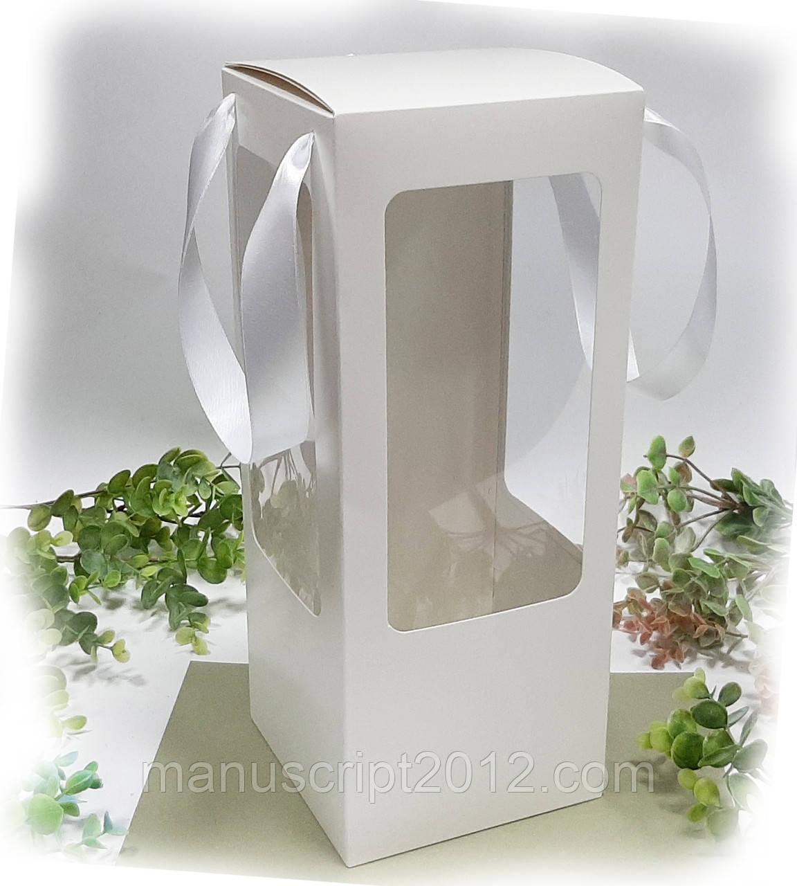 Коробка для подарков, кукол, мягкий игрушек 140х140х350 мм.
