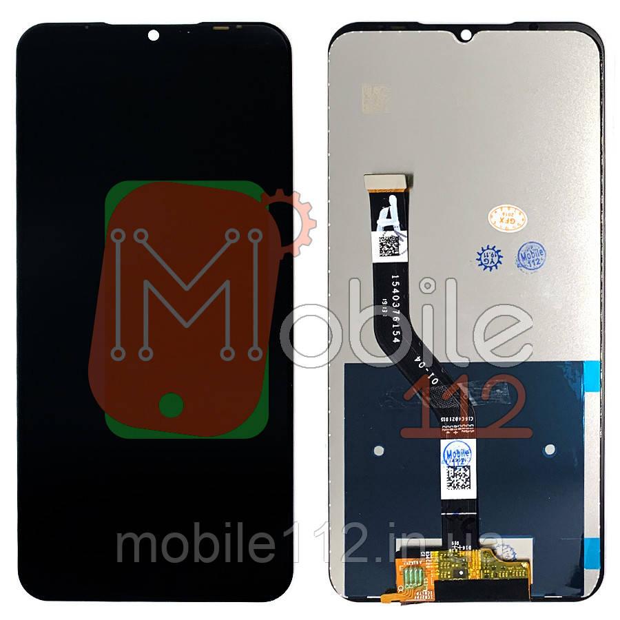 Экран (дисплей) Meizu Note 9 M923 + тачскрин черный оригинал Китай