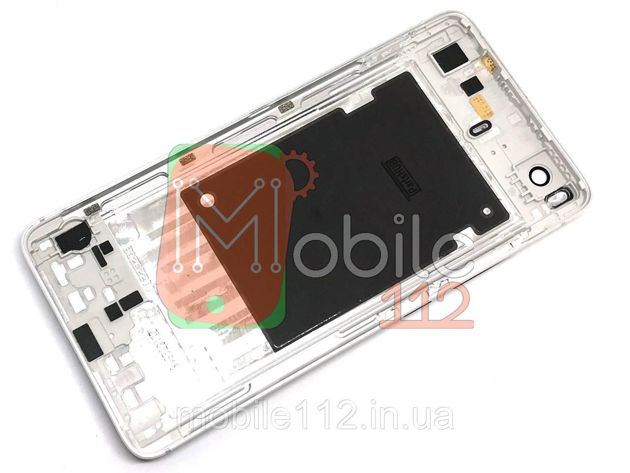 Задняя крышка Xiaomi Mi5S Mi 5S серебристая оригинал Китай