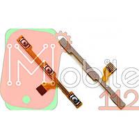 Шлейф Meizu M5s (M612), з кнопкою включення, з кнопками регулювання гучності