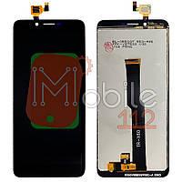 Экран (дисплей)  Doogee X60 + тачскрин черный оригинал Китай