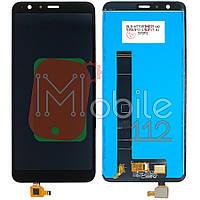 Экран (дисплей) Asus ZenFone Max Plus M1 ZB570TL X018D + тачскрин черный