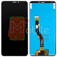 Экран (дисплей) Meizu Note 8 (M822H M822Q) + тачскрин черный оригинал Китай