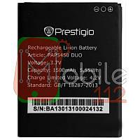 Аккумулятор (АКБ батарея) Prestigio MultiPhone PAP 5450 5450 5451 DUO 1500 mAh
