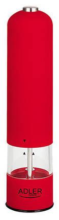 Измельчитель специй мельница для перца Adler AD 4437 Red, фото 2