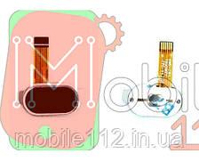 Шлейф  Meizu M2/ M2 mini, с кнопкой меню (Home), черного цвета