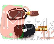 Шлейф Meizu M2 Note, з кнопкою меню (Home), чорного кольору