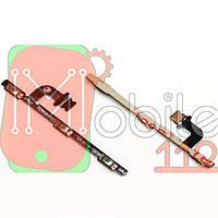 Шлейф Meizu M3 Note (M681H), з кнопкою включення, з кнопками регулювання гучності