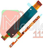 Шлейф  Sony Xperia M4 E2303 E2312 с кнопкой включения, с кнопками громкости и кнопкой камеры