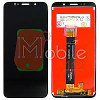 Экран (дисплей) Lenovo A5 L18021, Honor 7S DUA-L22+ тачскрин черный оригинал 100%