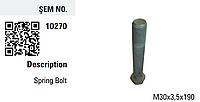 Болт рессорный металл BPW 334015270