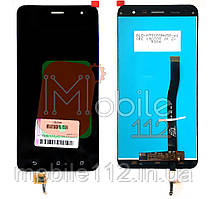 Экран (дисплей) Asus ZenFone 3 ZE552KL Z012S Z012DE + тачскрин черный