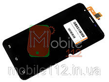 Экран (дисплей) Bravis A551 Atlas, Oukitel U7 Pro, BQ BQS-5505 Amsterdam + тачскрин черный оригинал 100%