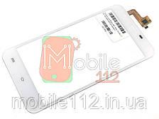 Сенсор (тачскрин) Bravis A551 Atlas, Oukitel U7 Pro, BQ BQS-5505 Amsterdam белый