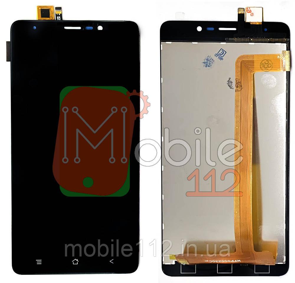 Экран (дисплей) Blackview A8 Max + тачскрин | модуль черный