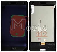 Экран (дисплей)  Huawei MediaPad T3 7.0 BG2-U01 версия 3G + тачскрин черный