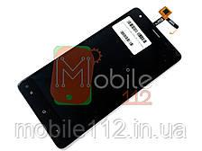 Экран (дисплей) Oukitel K6000 Pro + тачскрин черный