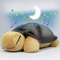 Ночник черепаха Звездное Небо, музыкальная, фото 1