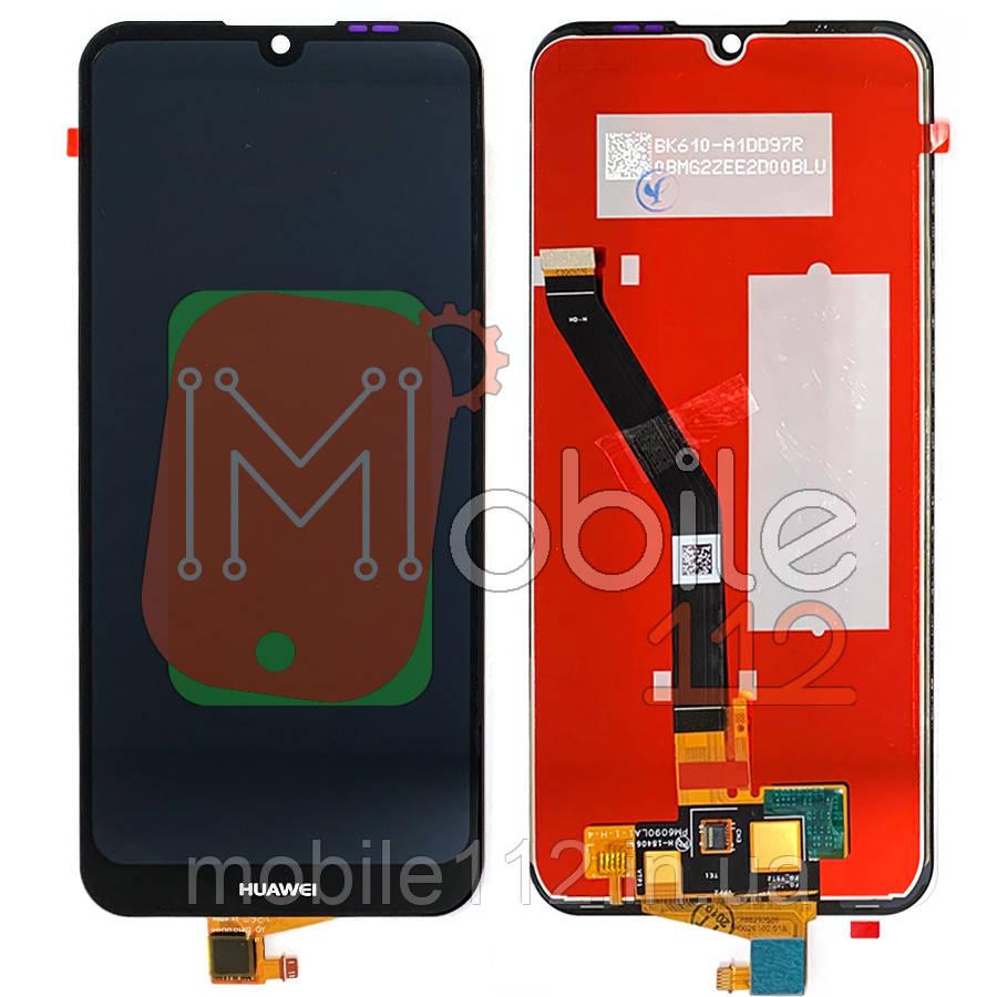 Екран (дисплей) Huawei Y6 2019 MRD-LX1, Honor 8A JAT-LX1, JAT-L29 + тачскрін чорний