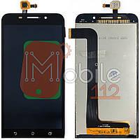Экран (дисплей) Asus ZenFone Max ZC550KL Z010 Z010DA + тачскрин черный