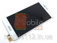 Экран (дисплей) Asus ZenFone 3 Max ZC520TL X008D + тачскрин белый