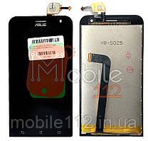 Экран (дисплей) Asus ZenFone 2 Laser (ZE500KL ZE500KG ZE500ML Z00ED) + тачскрин черный