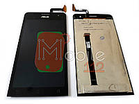 Экран (дисплей) Asus ZenFone 5 A500CG A500KL A501CG t00j t00f + тачскрин черный