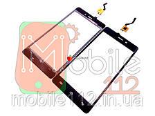 Сенсор (тачскрин) Doogee X5, X5 Pro черный